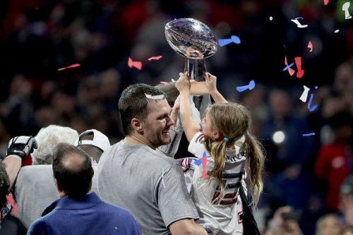 Brady guided New England to another glory