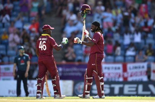 West Indies v England - 4th One Day International