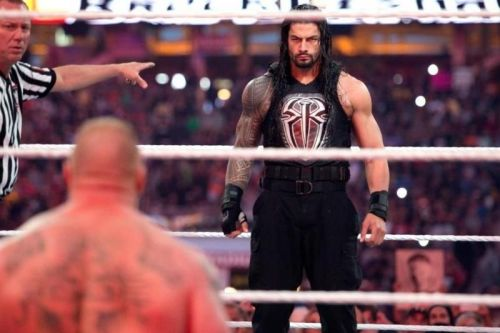 roman reigns and brock lesnar