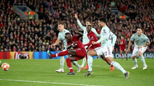 Sadio Mane missed Liverpool's best opportunity on the night