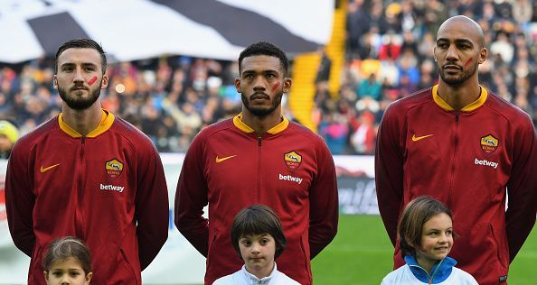 The trio will return for AS Roma after missing the last match
