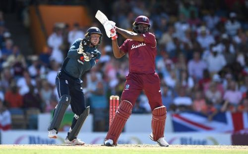 Chris Gayle made a big statement in the first ODI with a hundred