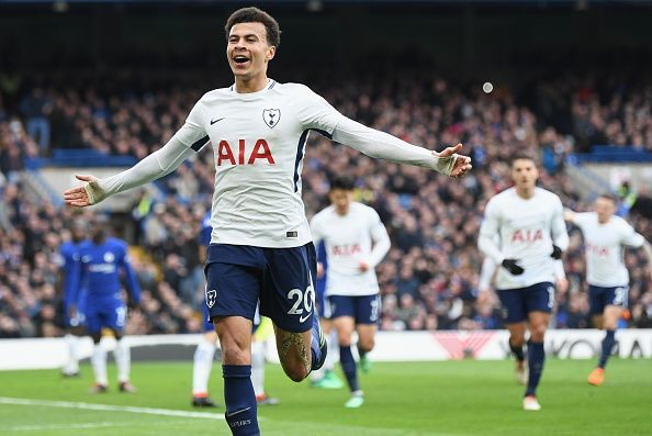Dele Alli helped Spurs to their first victory at Stamford Bridge in 28 years in 2018