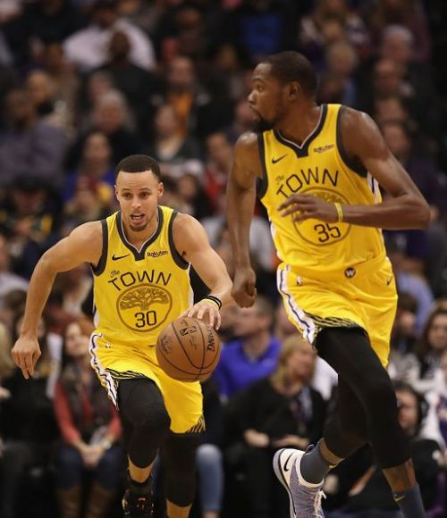 Durant and Curry might end up being opponents this All-Star game