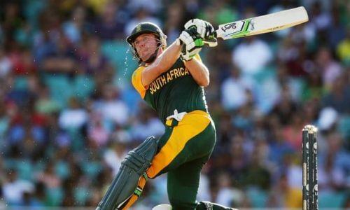AB de Villiers against the West Indies