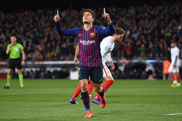 Coutinho is undergoing a torrid spell at the Nou Camp