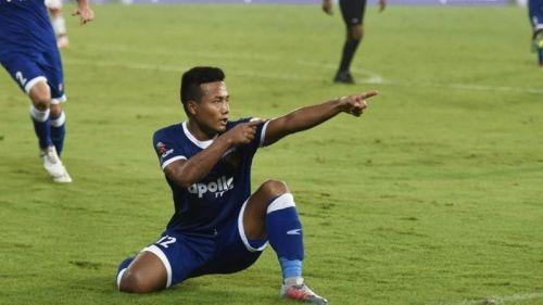 Jeje Lalpekhlua has scored 22 goals from 64 matches (Image Courtesy: ISL)
