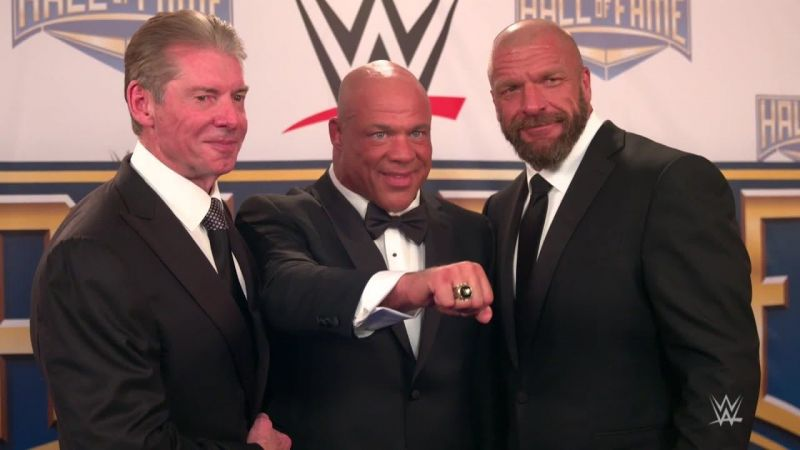 Image result for vince mcmahon and triple h