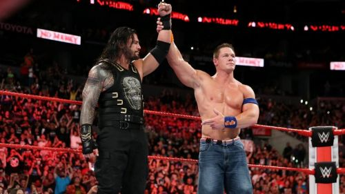 Will the Big Dog battle it out with Cena?