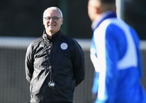 Leicester City FC Training Session and Press Conference