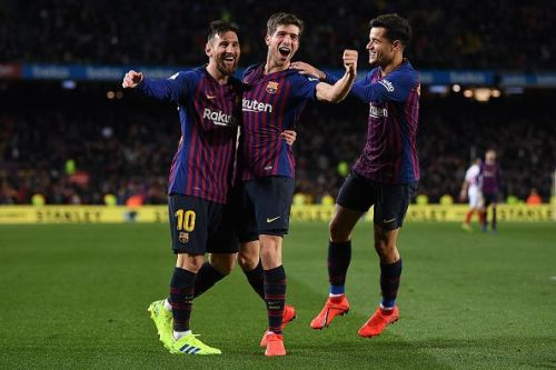 FC Barcelona would need all three of them to perform in the best possible way. Sergi Roberto is a clutch player in El Clasicos, Coutinho has to continue on his momentum, Messi is well..., he is Messi.