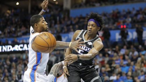 D'Aaron Fox is averaging an impressive 17.2 ppg this year.