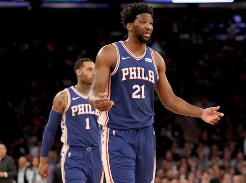 Joel Embiid has been their go-to man for the most part of the season