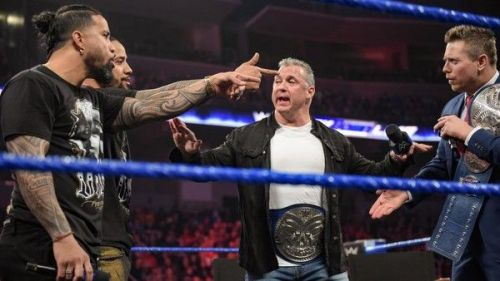 smackdown live tag team match