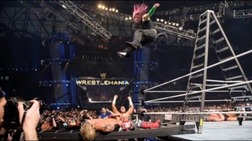 The moment that led to Edge and Jeff's exit from the match