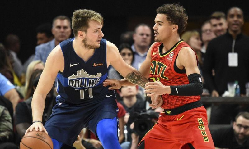 Doncic and Young were swapped on the NBA Draft day.