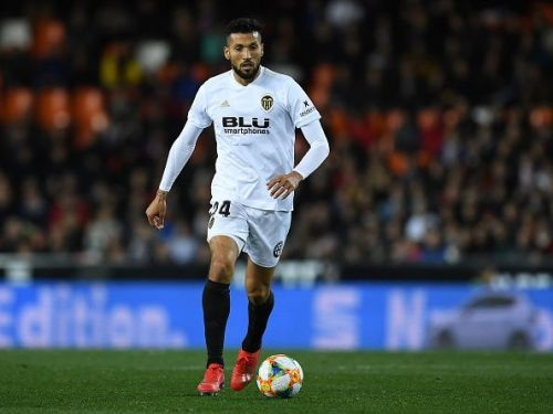 Ezequiel Garay is out with an injury for Valencia