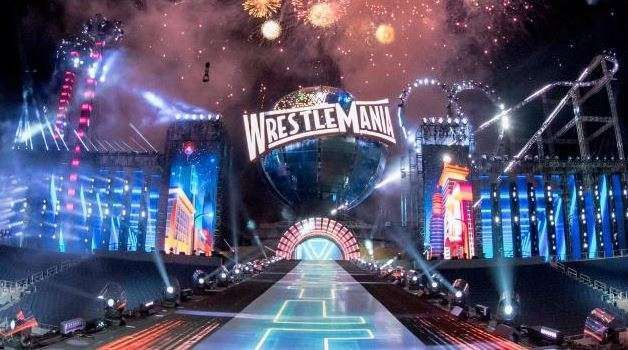 The set that cost WWE US$5 million!