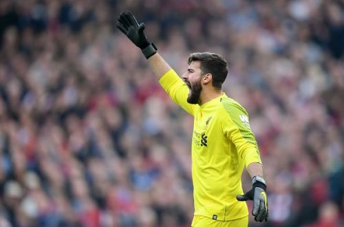 Alisson can be considered as one of the best goalkeepers in the Premier League