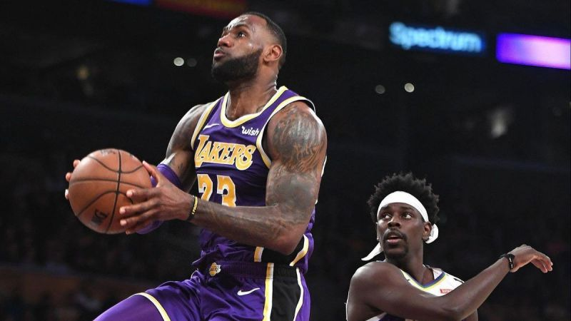 The Lakers take the revenge after their loss to the Pelicans just three nights before