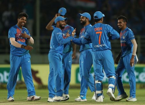Indian Team celebration