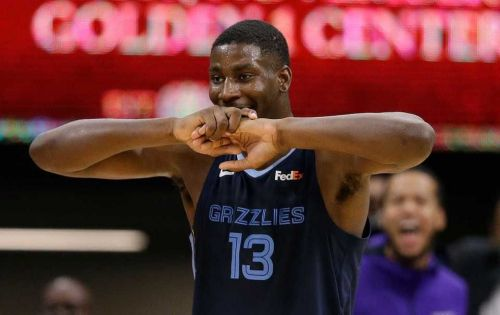 Jaren Jackson Jr. is currently out with a quad injury and is on day-to-day.