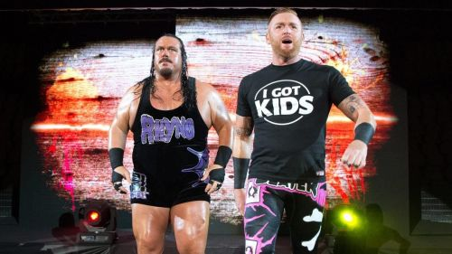 Rhyno and Heath Slater were the first ever WWE SmackDown Live Tag Team Champions.