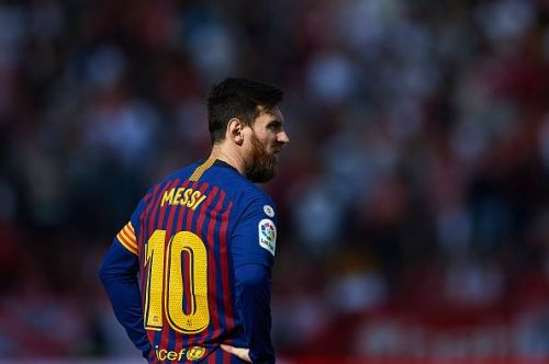 Lionel Messi is moving towards winning his third consecutive European Golden Shoe