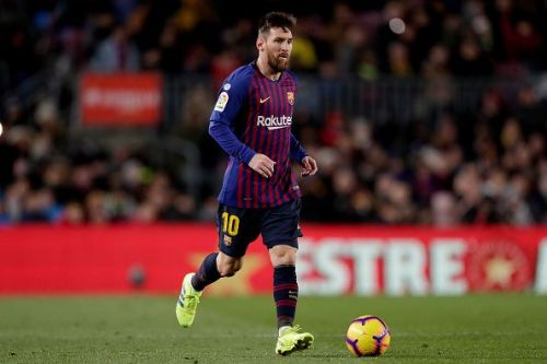Lionel Messi's current contract at Barcelona expires in 2021