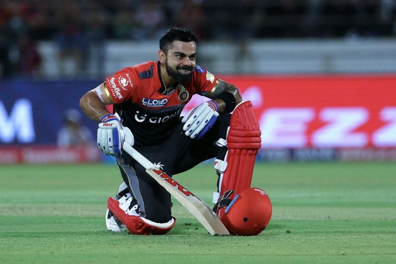 Virat is the second most 50+ scores in IPL