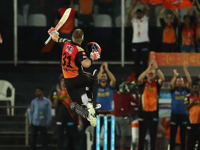 David after the century against Kolkata Knight Riders