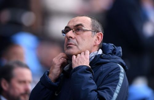 Feeling the heat - Maurizio Sarri suffers from a great lack of self-confidence.
