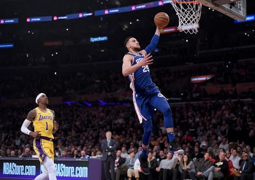 Ben Simmons is averaging 16.8 points, 9.0 rebounds and 7.9 assists per game