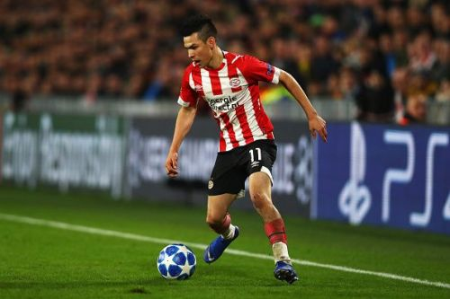 PSV's Lozano has been pivotal to the Dutch side's hopes this season.