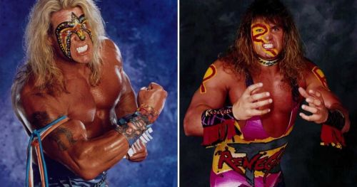 The Renegade Warrior (right) was not the same star as the Ultimate Warrior.