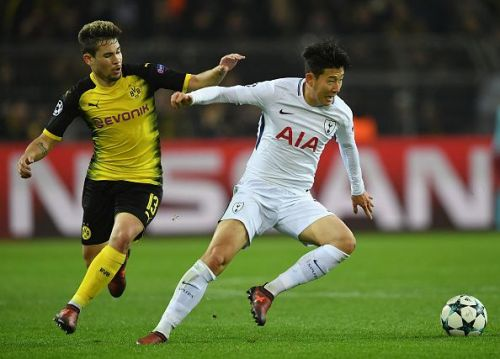 Wednesday sees Tottenham play host to Borussia Dortmund in Champions League action