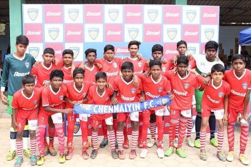Participants of the Boost Chennaiyin FC Football Championship