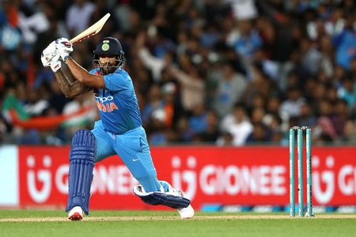 Shikhar Dhawan would play for Delhi Capitals in IPL 2019
