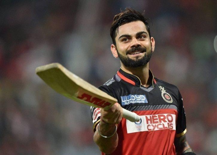 Kohli scored 4948 IPL runs