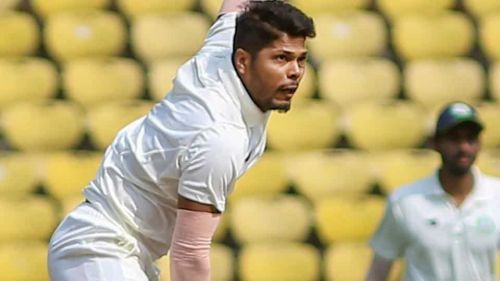 Umesh Yadav gave away only 17 runs from 13 overs