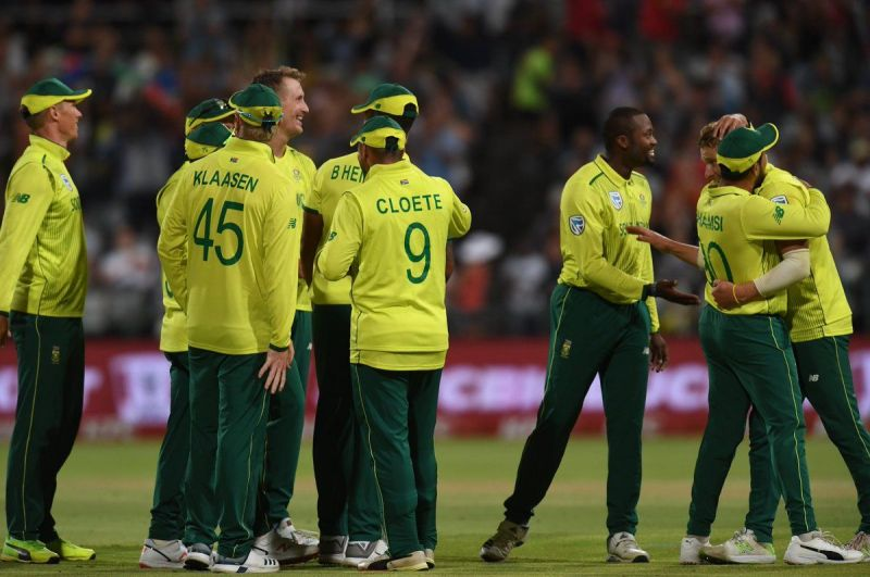 c76efe5a4 Pakistan tour of South Africa 2018-19  South Africa vs Pakistan 3rd ...