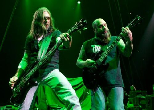 Crowbar's Kirk Windstein (pictured right) in concert
