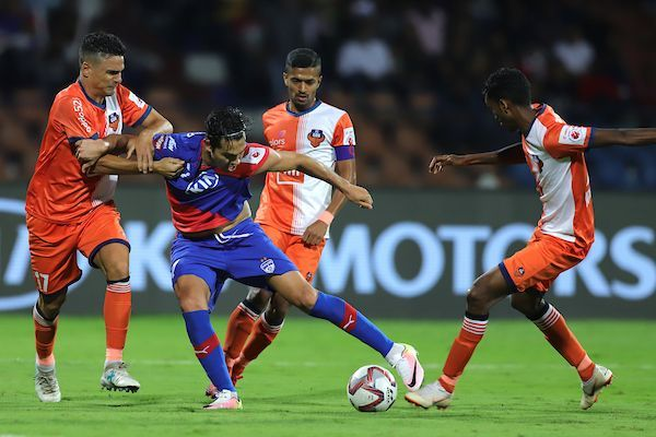 Miku was in tremendous form during the game [Image: ISL]