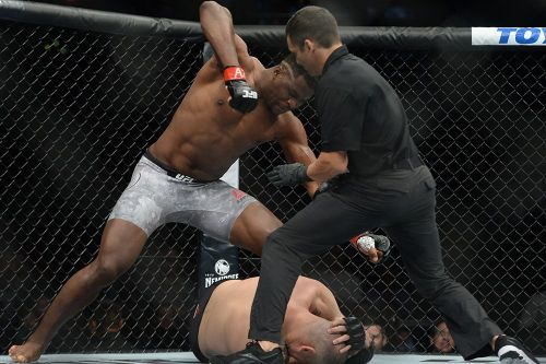 Francis Ngannou finished Cain Velasquez in just 26 seconds
