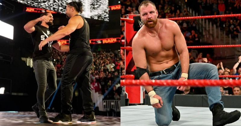 Why did Ambrose not join Rollins and Reigns?