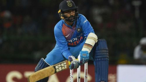 Dinesh Karthik got it wrong in the last over at Hamilton