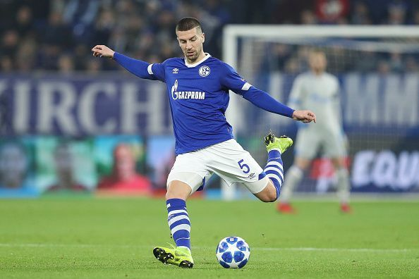 Matija Nastasic will line up against Manchester City in midweek