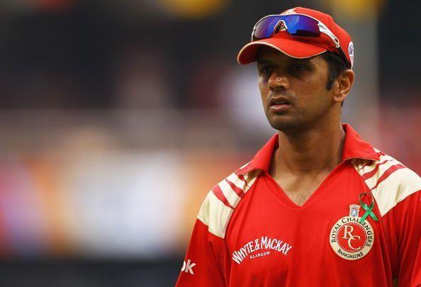 Rahul Dravid first captain of RCB Virat Kohli