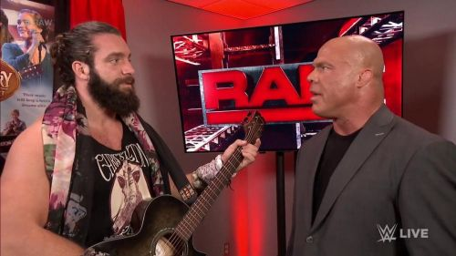 Elias and Kurt Angle