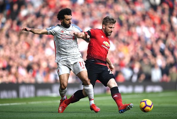 Shaw efficiently nullified Salah's threat on a memorable afternoon for the fullback